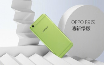 Green Oppo R9s launching on April 1
