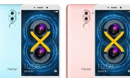 Honor 6X spotted in new Pink and Blue color options