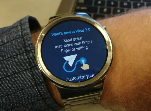 Huawei Watch starts getting Android Wear 2 0 update