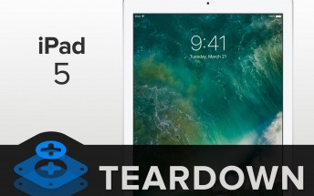 iFixit tears down new iPad, finds parts from Air 1 and 2