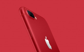 Apple iPhone 7 (Product) Red - a special edition color with a good heart