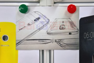 Design sketch of a dual-camera Nokia