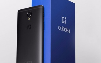 OnePlus 3T colette edition is all-black, only 250 units will be made