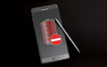 Samsung will disable charging on remaining Galaxy Note 7 units