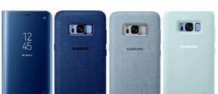 Here are some of the official Samsung Galaxy S8 ...