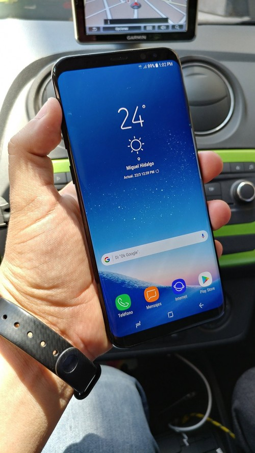 Working Samsung Galaxy S8+ unit spotted in the wild