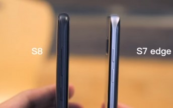 Samsung Galaxy S8 and S8+ get sized up against other handsets on video