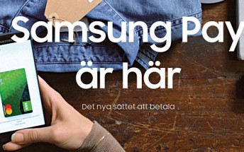 Samsung Pay arrives in Sweden