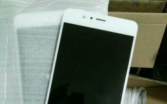 ZTE nubia Z17 Mini front panel pictured