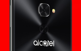 Live image of the alleged Alcatel Idol 5S next to the Idol 4 appears