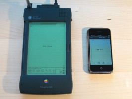 Apple Newton (photo: Blake Patterson)