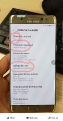 Alleged refurbished Samsung Galaxy Note7