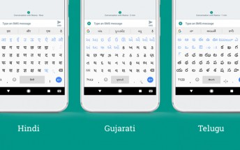 Gboard for Android updated with new languages and text editing tool