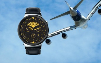 Aviation-inspired watch face wins Samsung's design contest for the Gear S3