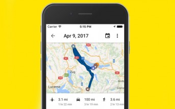 Google Maps' Timeline feature is now supported on iOS