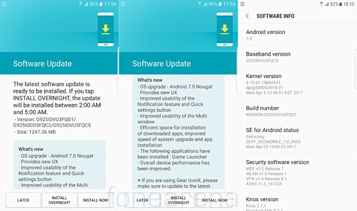 Aside From The New OS And Changes Features It Brings Along Update Also Includes Some Performance Improvements As Well Android Security