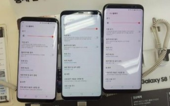Samsung Galaxy S8 red tint fix to arrive next week
