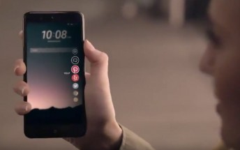 HTC U 11 appears in an early teaser video that shows off its Edge Sense feature
