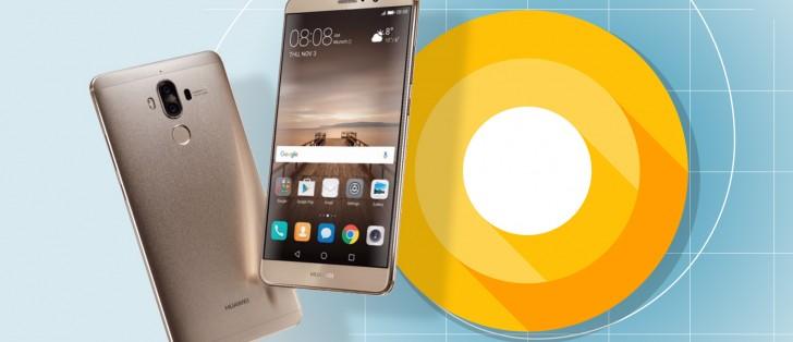 Huawei kicks off Mate 9 Oreo beta program