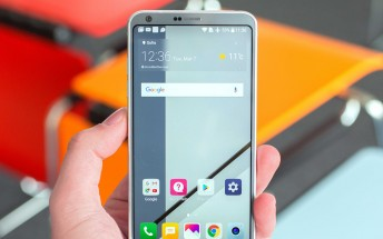 Get a free LG K8 (2017) with each LG G6 order in some EU countries