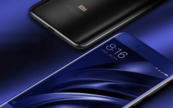 Xiaomi Mi 6 passes 1 million registrations on JD.com