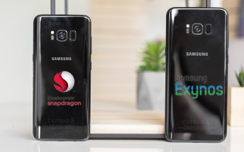 Samsung Galaxy S8+ Exynos 8895 vs Snapdragon 835 benchmark comparison