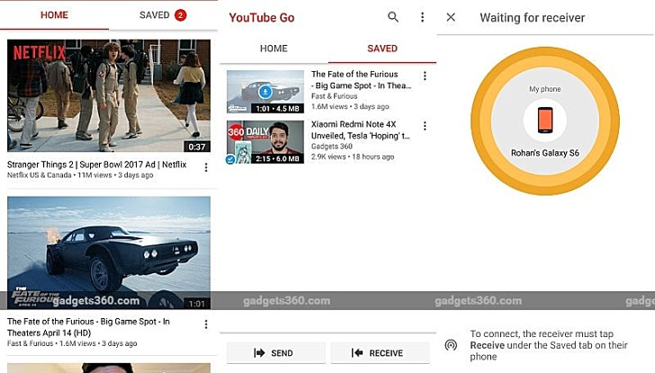 YouTube Go beta arrives in India - GSMArena blog