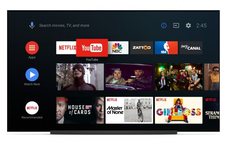 Android TV to get a new UI with Android O - GSMArena com news