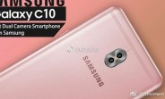 Galaxy C10 leaks, Samsung's first dual-camera smartphone