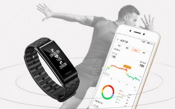Honor Band A2 unveiled: now with screen and a heart rate sensor