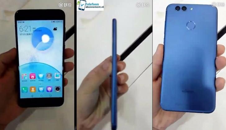 Huawei nova 2 stars in blurry hands-on video ahead of its