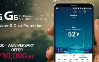 LG offering $155 discount on G6 in India