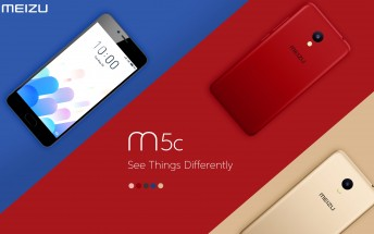 Meizu M5c is all about color and camera