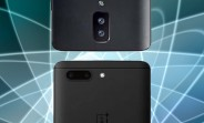 OnePlus 5 mock-ups show two different dual camera layouts
