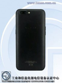 Oppo R11 (photos by TENAA)