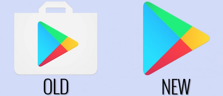 Play Store icon loses the bag in favor of modernity ...