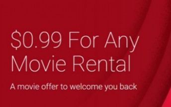 Deal: Google Play movie rental for as low as $0.99