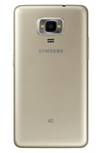 Samsung Z4 in Gold (also available in Silver)