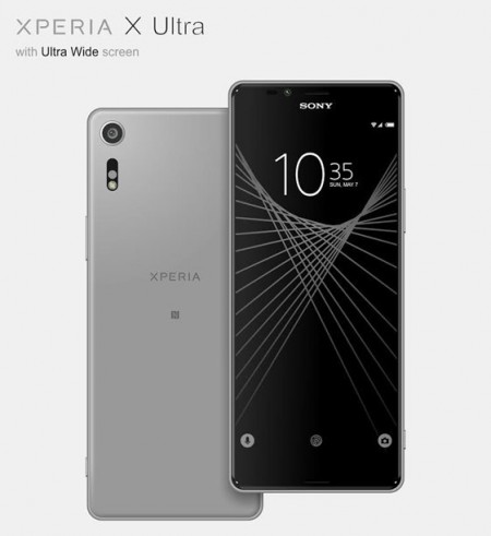 sony xperia x ultra specs leaks with tall 21 9 display news. Black Bedroom Furniture Sets. Home Design Ideas