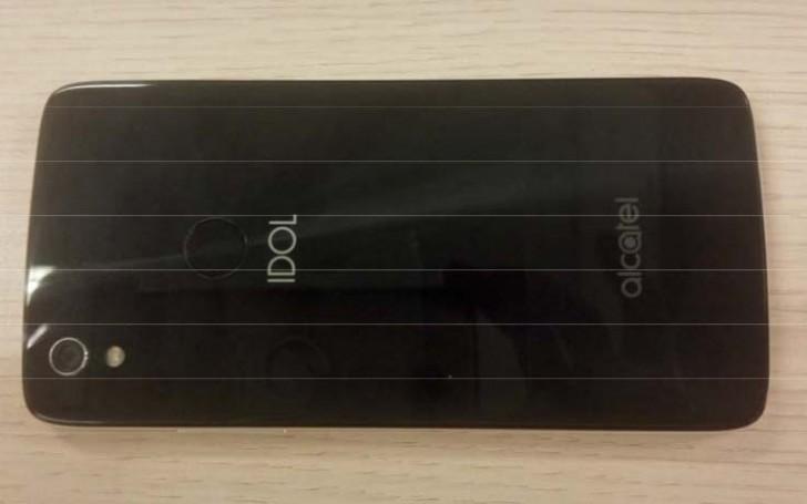 alcatel Idol 5 swings by FCC, photo of the back leaks