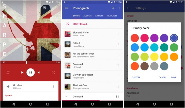 Top music player apps for Android - GSMArena com news