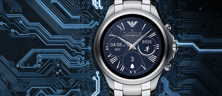 emporio armani connected smartwatch brings android wear 2