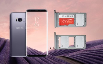 Dual SIM Galaxy S8+ reaches mainland Europe
