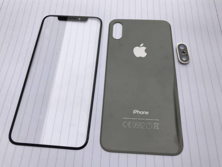 Front And Rear Panels For The Iphone 8 Leak Glass Backs For Iphone