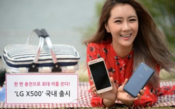 LG announces X500 with 13MP camera, 4,500mAh battery
