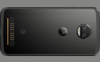 Check out this leaked render of the Moto Z2 Force on AT&T