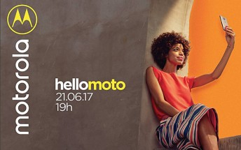 Motorola to unveil a new smartphone on June 21