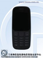 New Nokia 105 (TA-1010): in Black