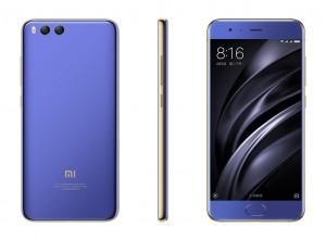 Xiaomi Mi 6 in Coral Blue