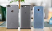 VIDEO: Camera battle - OnePlus 5, iPhone 7 Plus and Galaxy S8